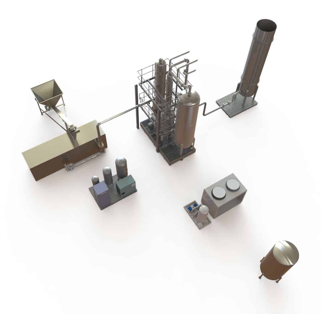Waste-To-Energy Pyrolysis Plant Equipment - FuturEnergy