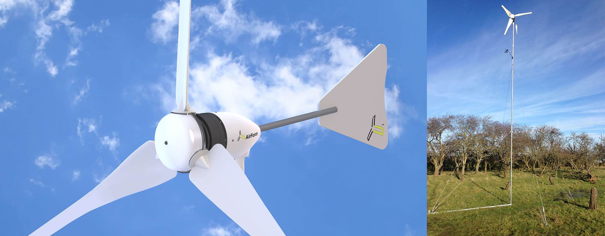1kw Small Wind Turbine Manufactured For Domestic Use From Futurenergy